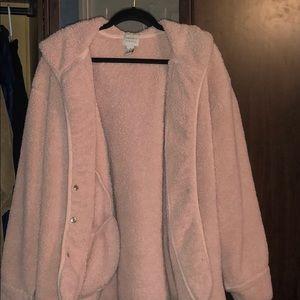 Pink teddy bear jacket